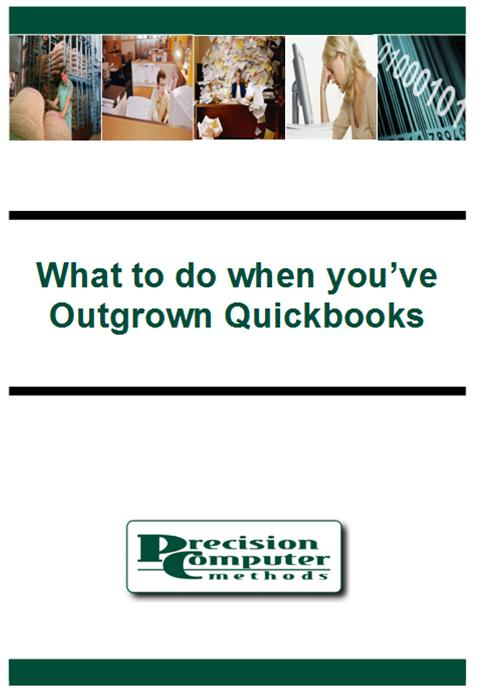 What to do when you've outgrown Quickbooks? Call us at 630 208 8000